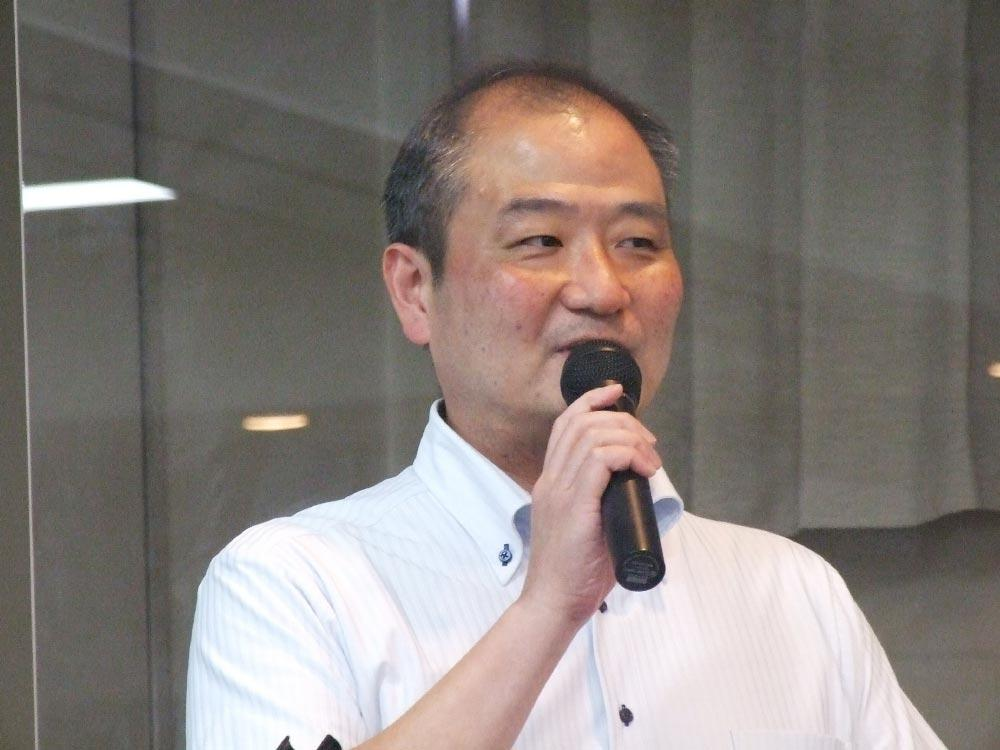 セミナー「DXの推進について」近畿経済産業局地域経済部の黒木啓良課長.jpg